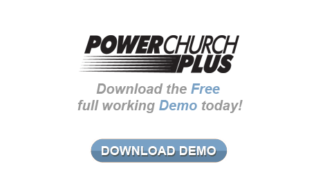 Download the free demo of PowerChurch Plus - Our Desktop Church Management Software
